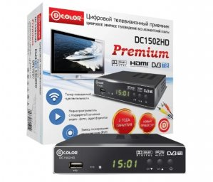 TV-тюнер D-COLOR DC1502HD