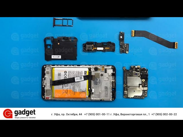 Redmi 7A разборка | Redmi 7A disassembly