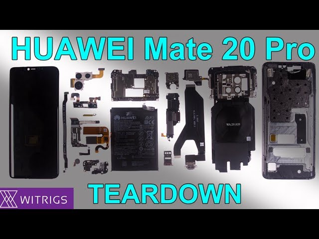 HUAWEI Mate 20 Pro Teardown | Mate 20 pro Disassembly | Screen Disassemble