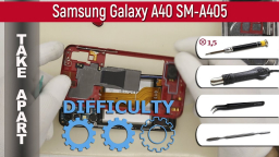 Как разобрать Samsung Galaxy A40 SM-A405 Take apart Tutorial