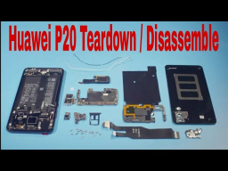 Huawei  P20 Disassemble , Touch ,Display, Battery ,Teardown ,Fingerprint ,Backcover.( Huawei P20 )