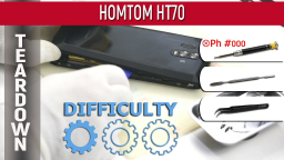 Как разобрать HOMTOM HT70 Teardown Take apart Tutorial